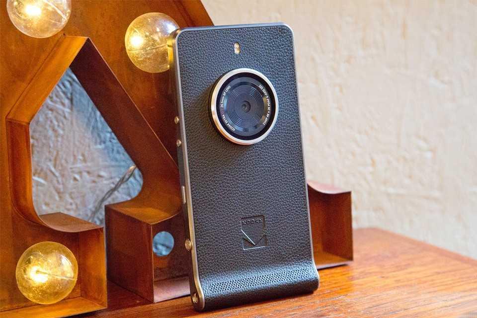 De Kodak Ektra Smartphone is de natte droom voor smartphone fotografen